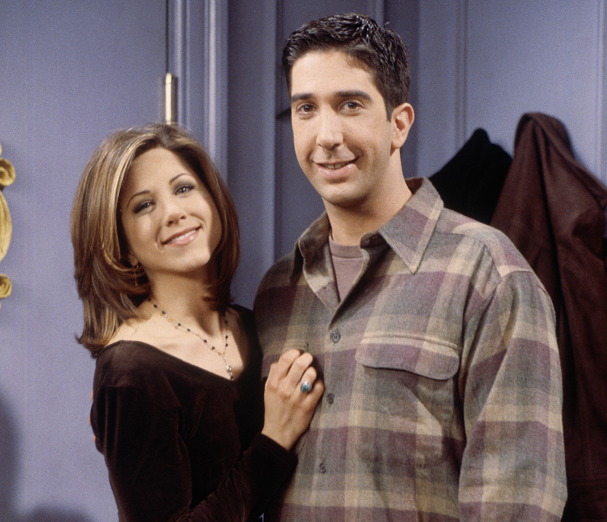 ross and rachel friends joke