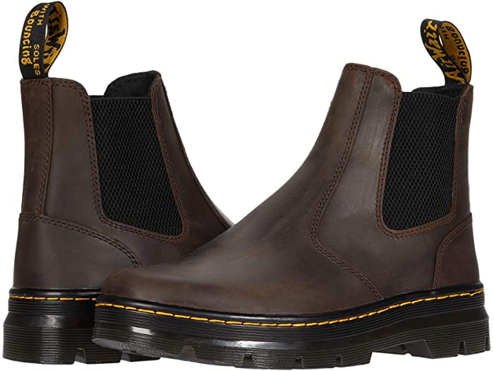 doc martins ankle boots brown