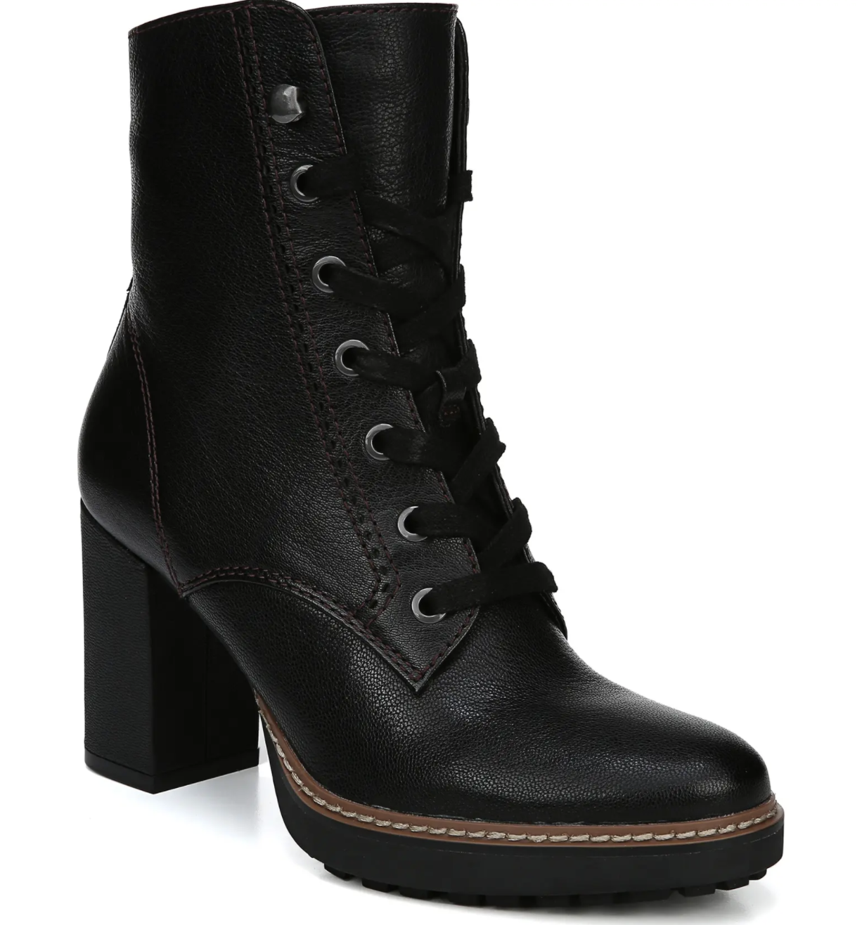 naturalizer callie heeled boot