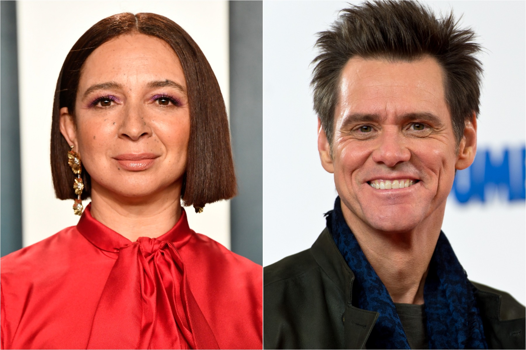 saturday night live maya rudolph and jim carrey as joe biden