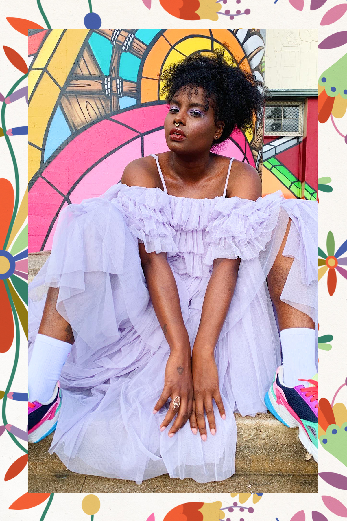 Afro-latinx fashion style