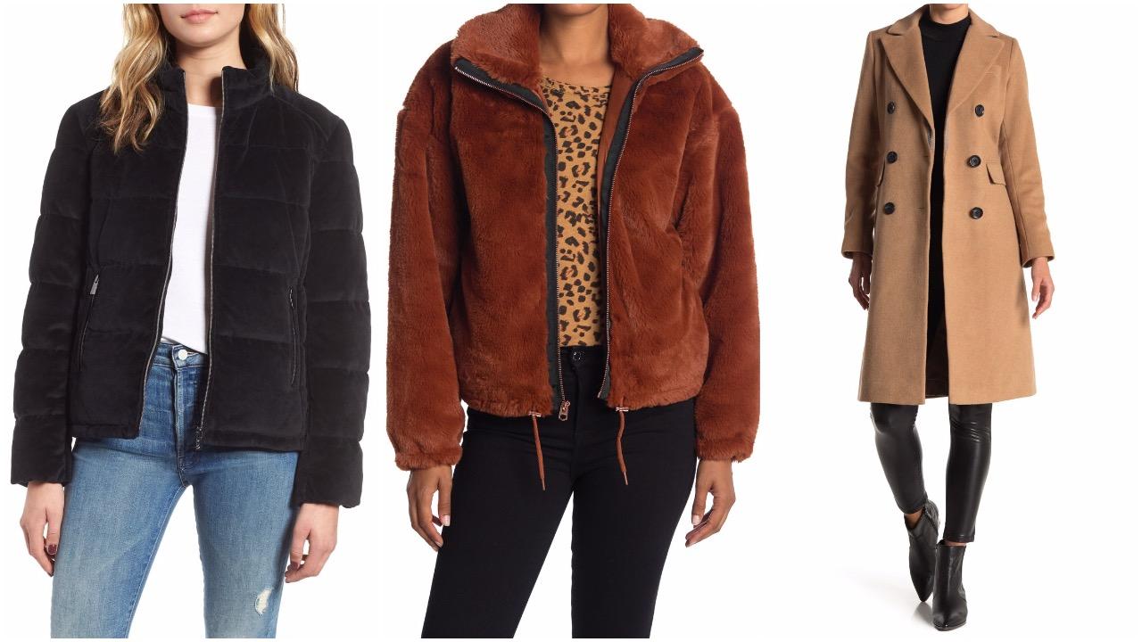 nordstrom rack sale coats