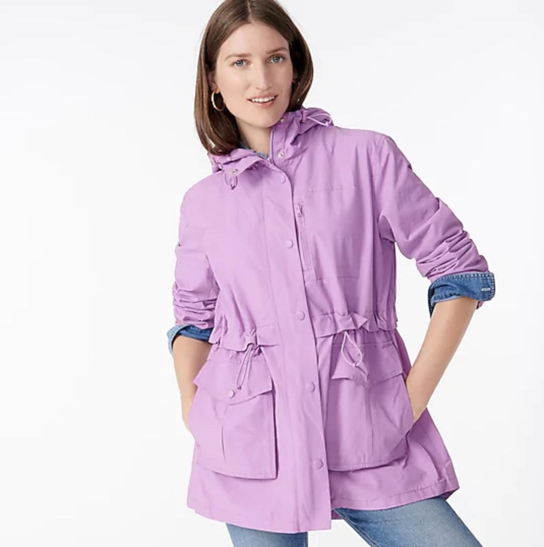 best womens raincoat, j crew cute rain jackets to shop
