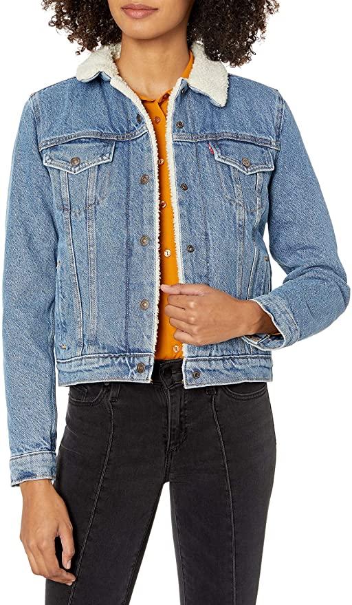 amazon prime day levi's denim trucker jacket Zendaya