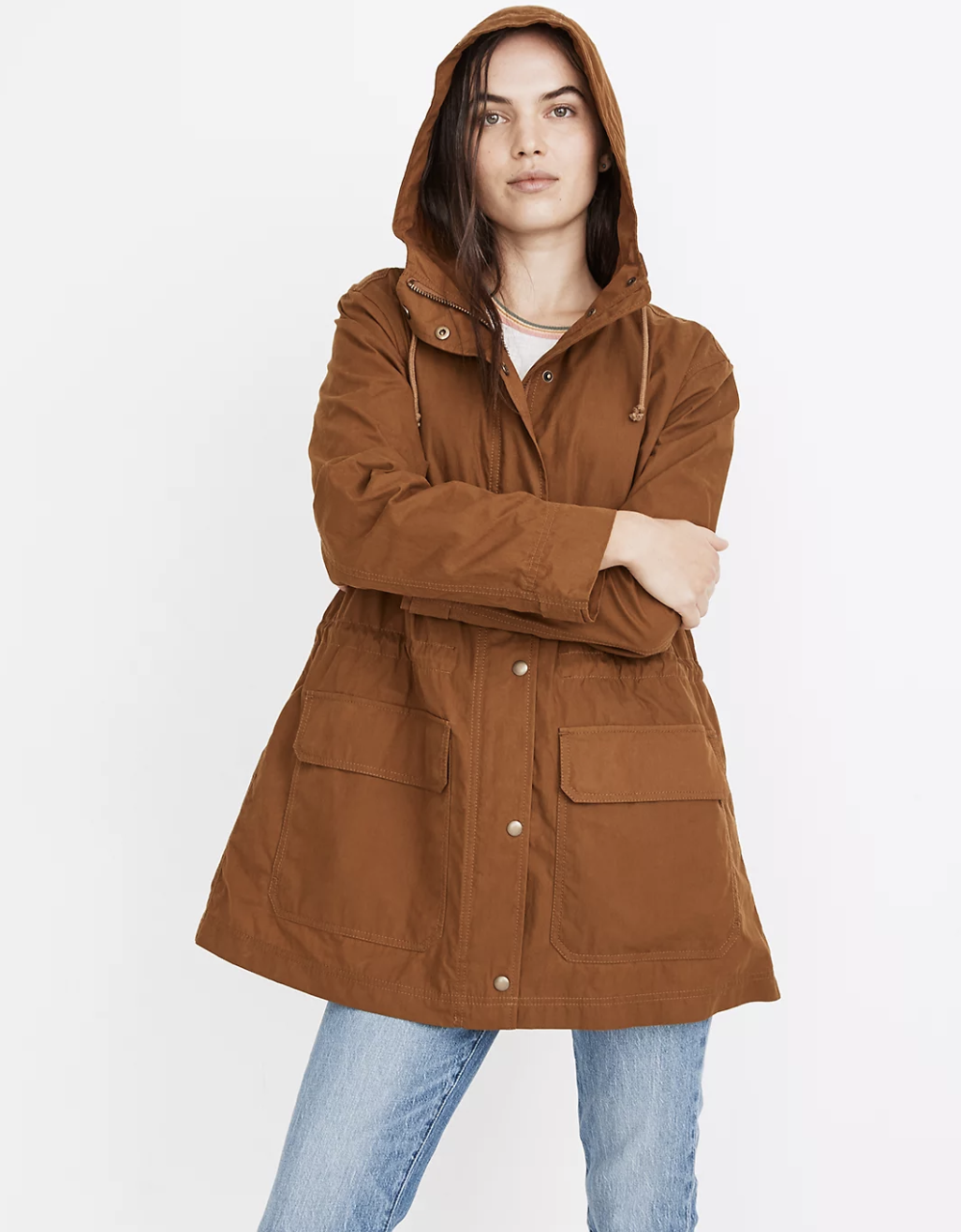 madewell womens raincoat cute rain jackets to shop