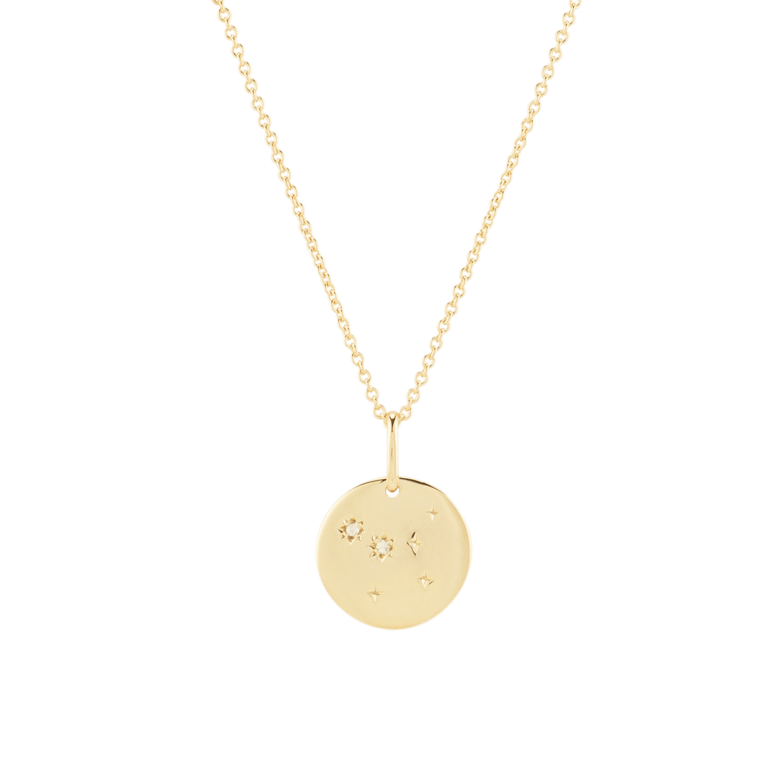 Mejuri gold coin necklace