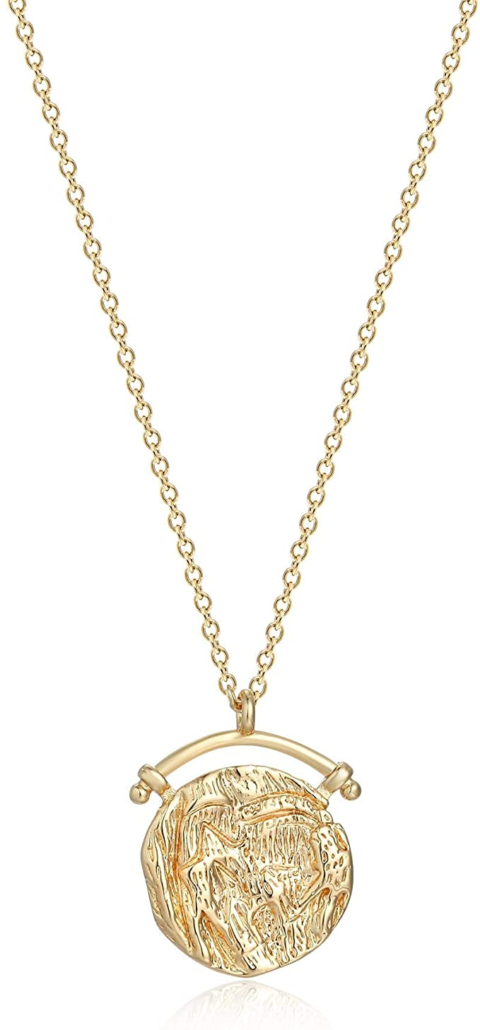 amazon gold coin necklace