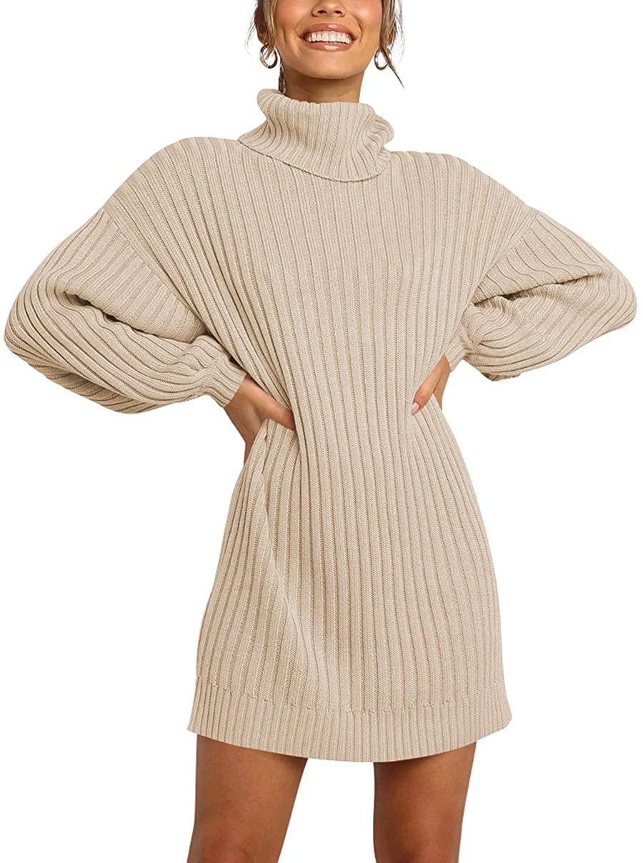 amazon logene turtleneck sweater dress