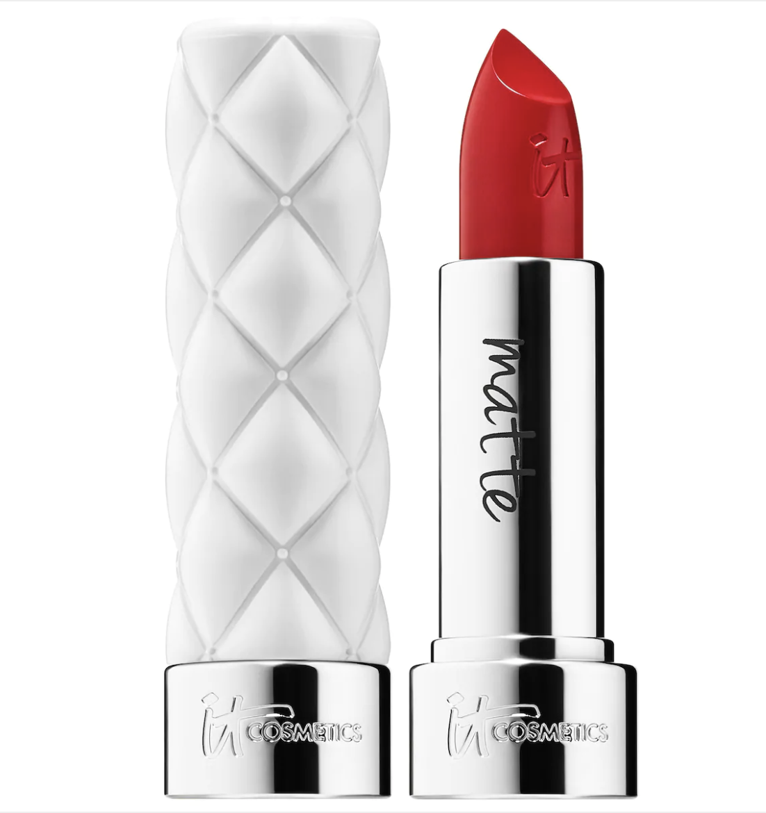 it cosmetics matte red lipstick stellar