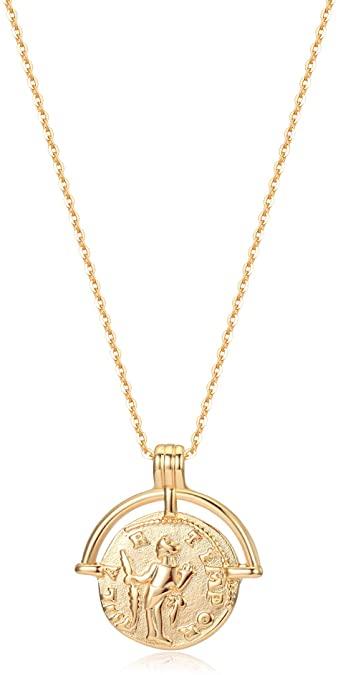 amazon gold coin necklace