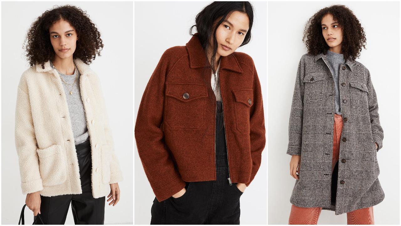 Madewell fall sale 2020 coats and jackets