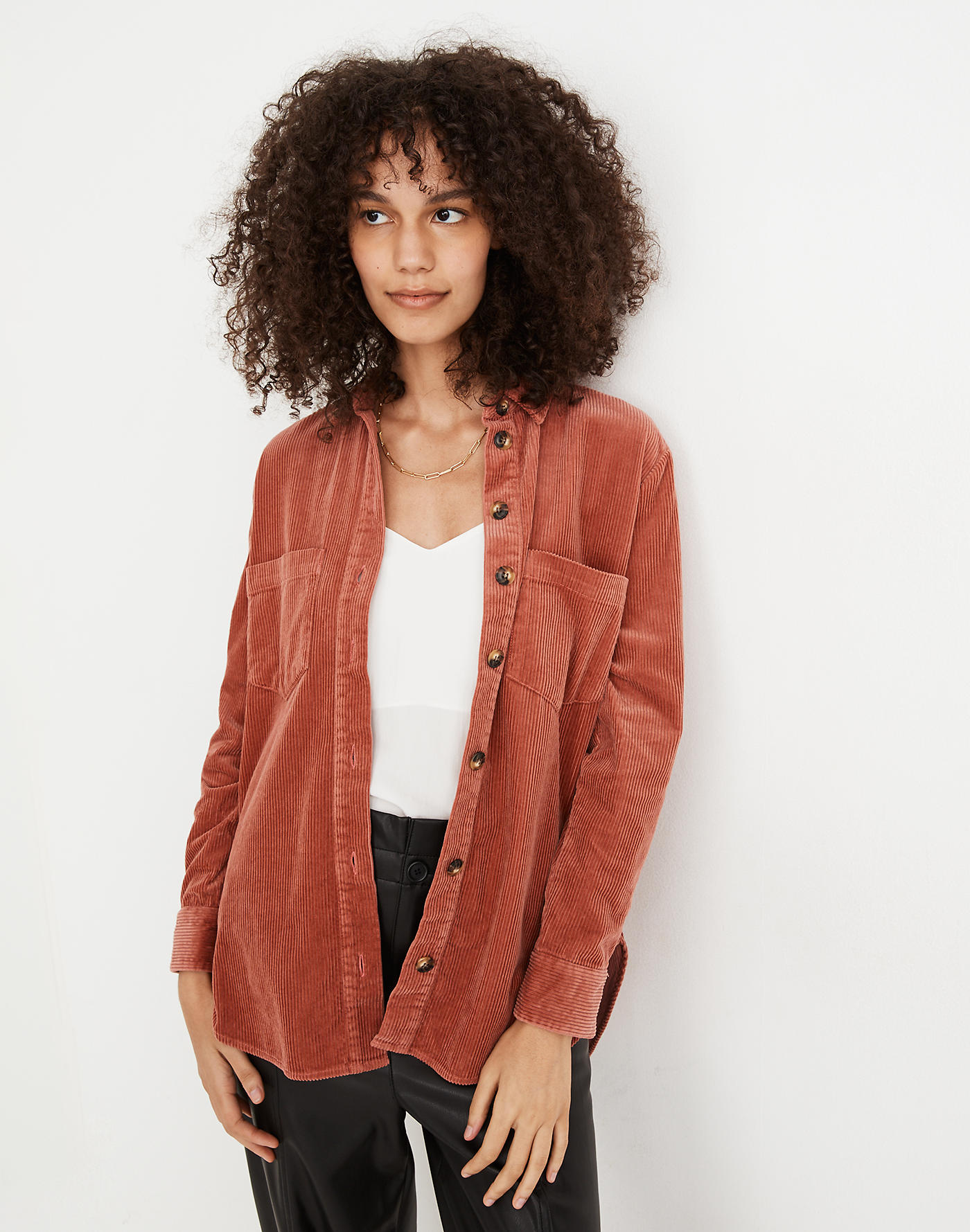 madewell fall sale 2020 corduroy shirt