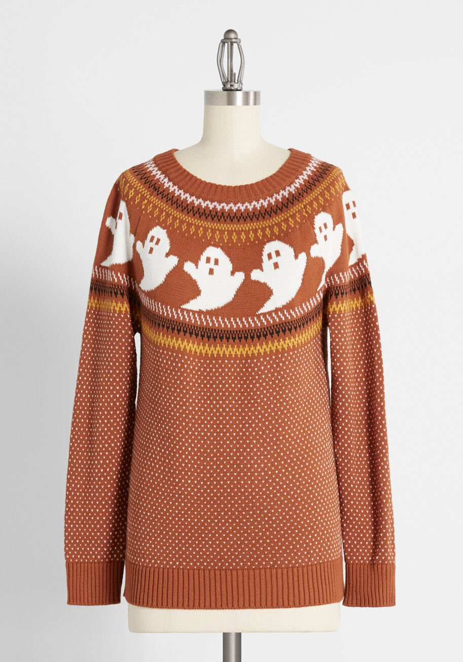 modcloth ghost sweater
