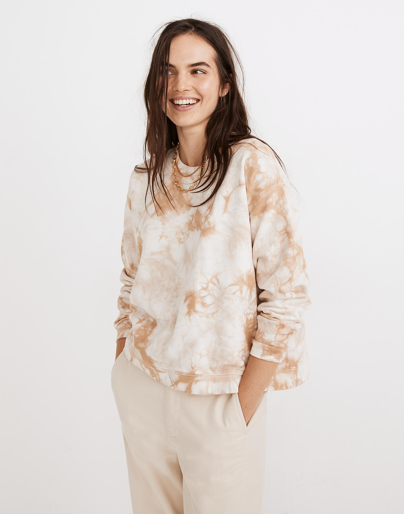 madewell fall sale 2020 tie-dye sweatshirt
