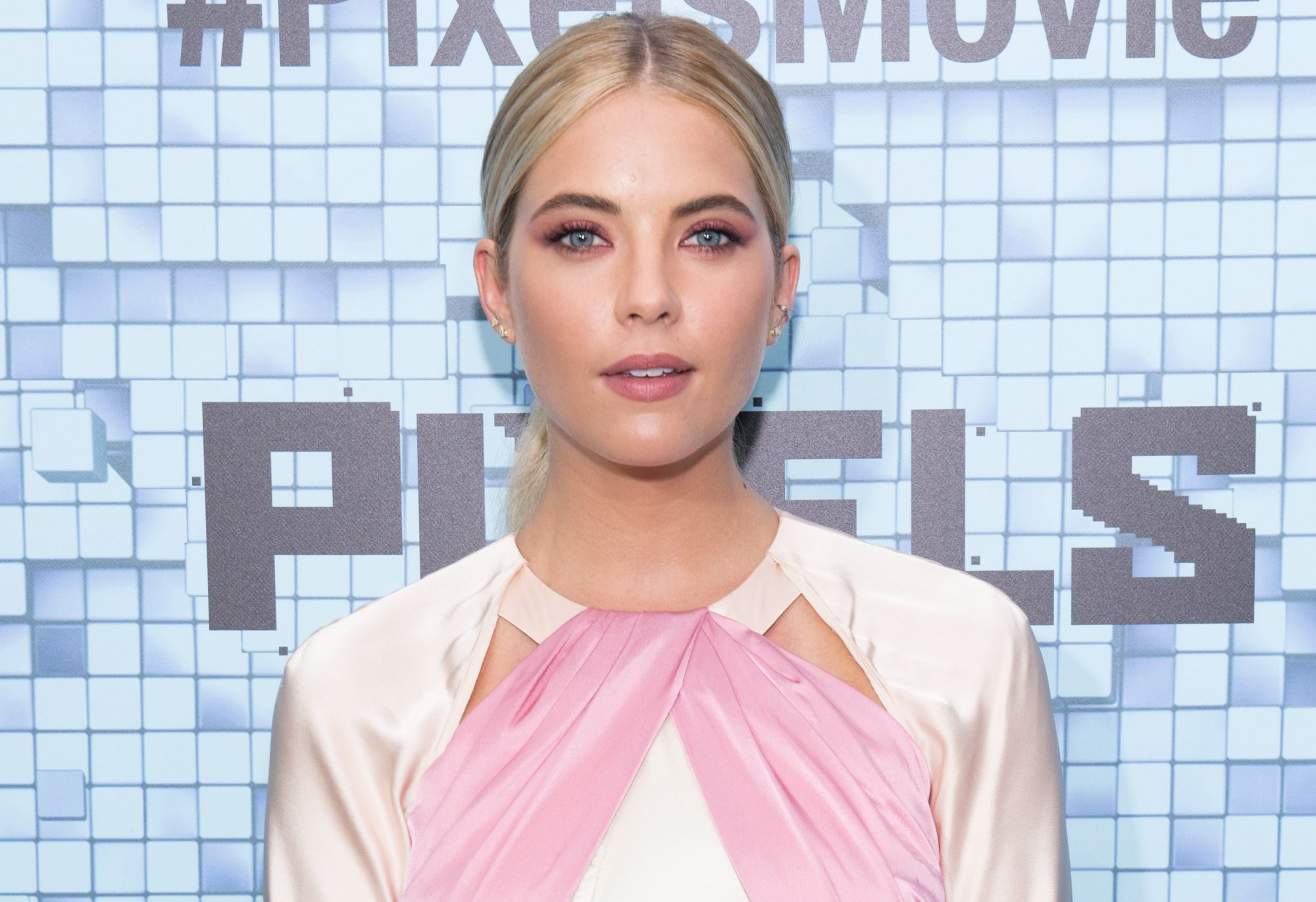 ashley benson fall hair color