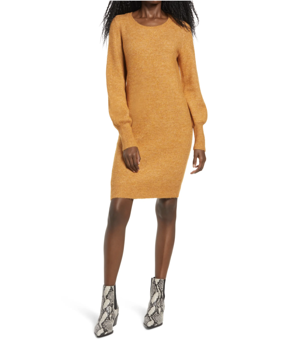 nordstrom holiday outfit sweater dress