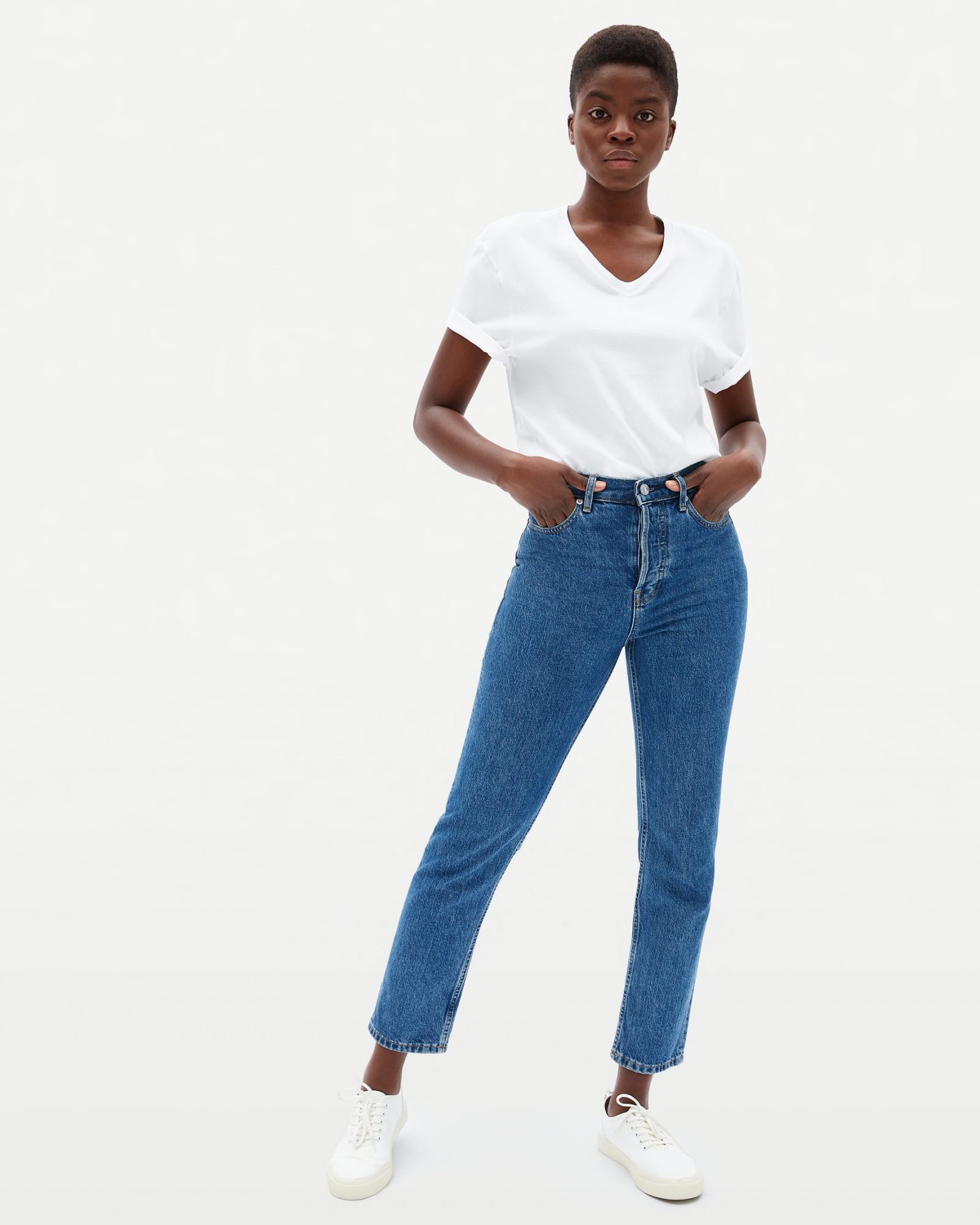 sustainable denim jeans everlane