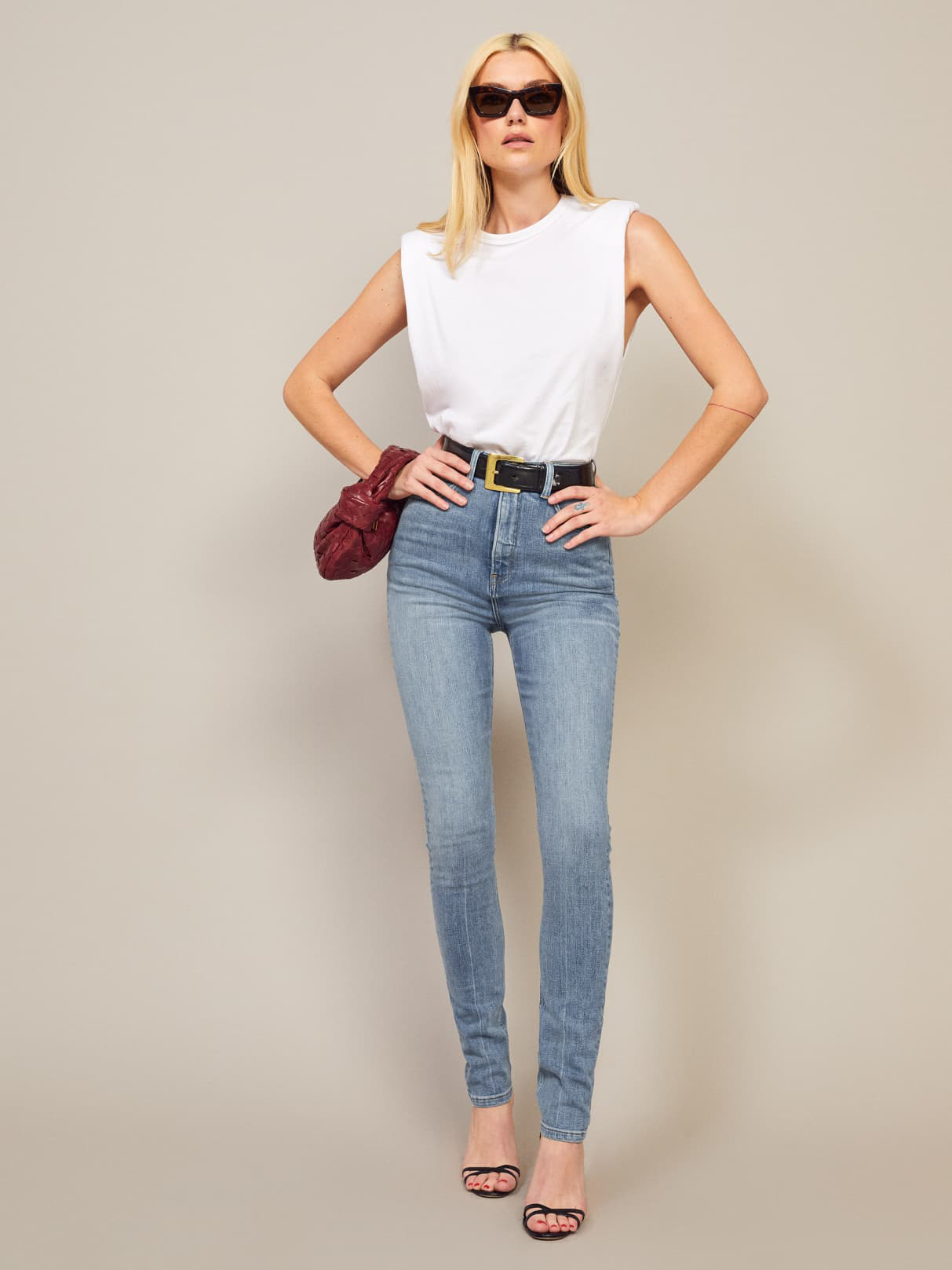 sustainable jeans reformation