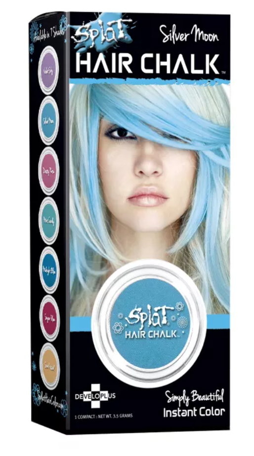 temporary hair color chalk halloween splat