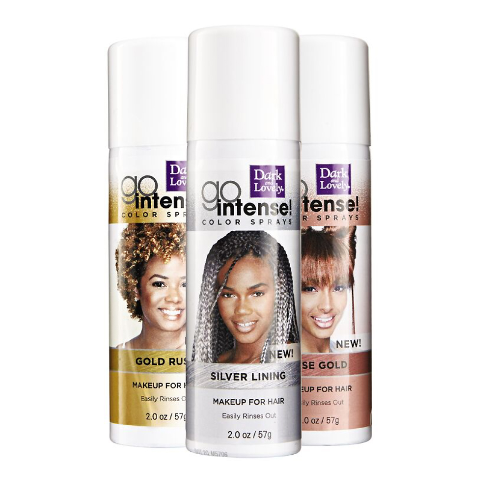 best temporary hair color halloween metallic spray brunettes