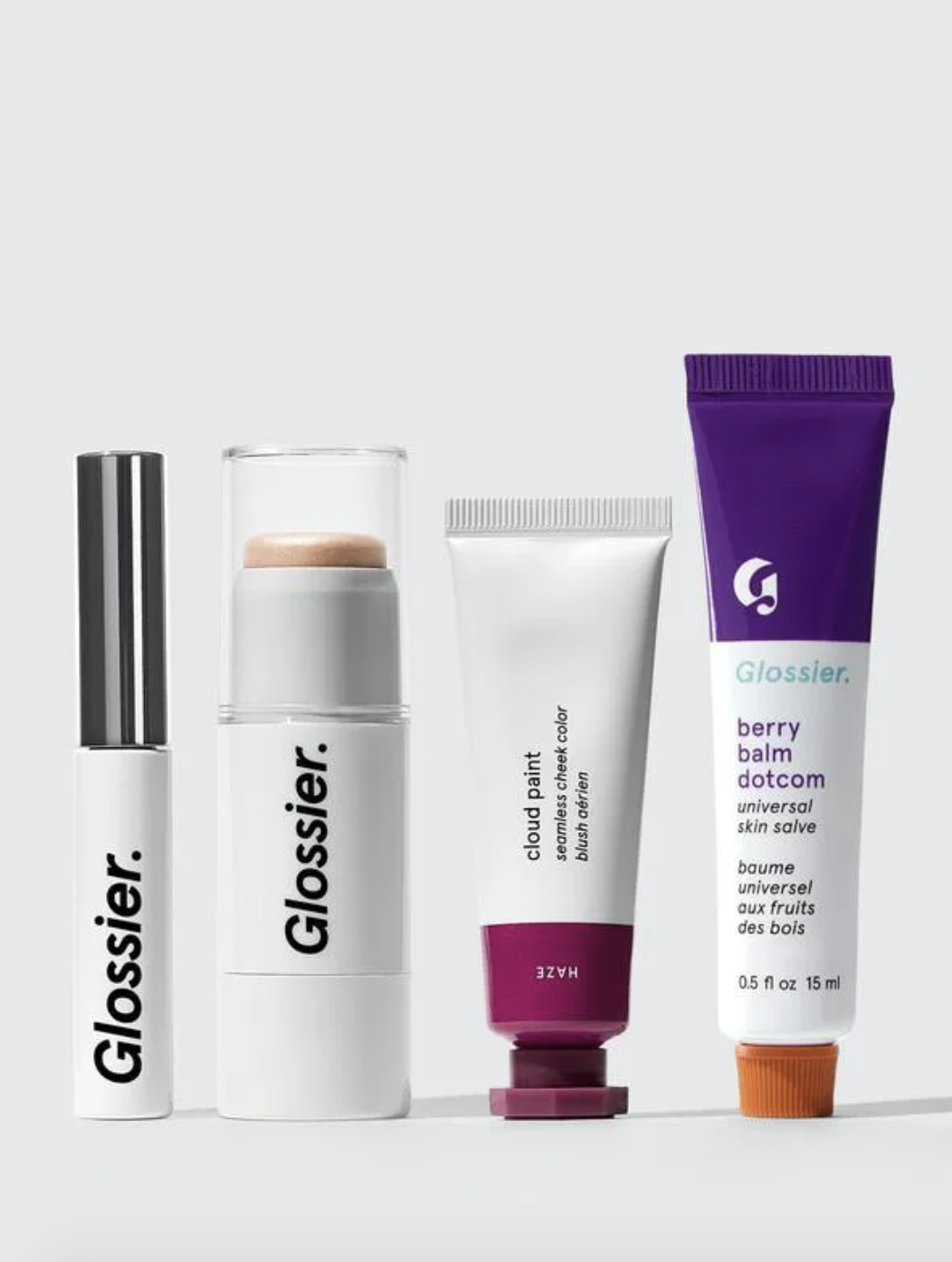 glossier makeup set, gifts for makeup lovers