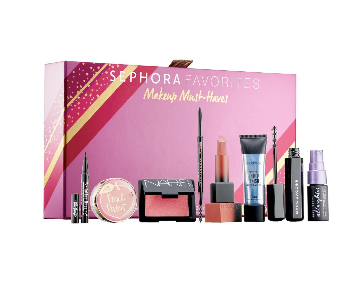 sephora makeup favorites set, gifts for makeup lovers