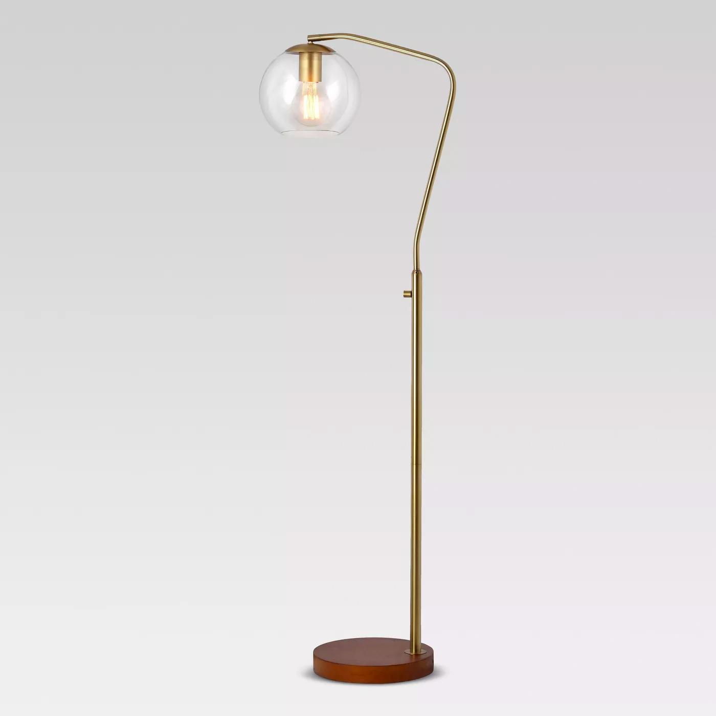 target mid century modern floor lamp