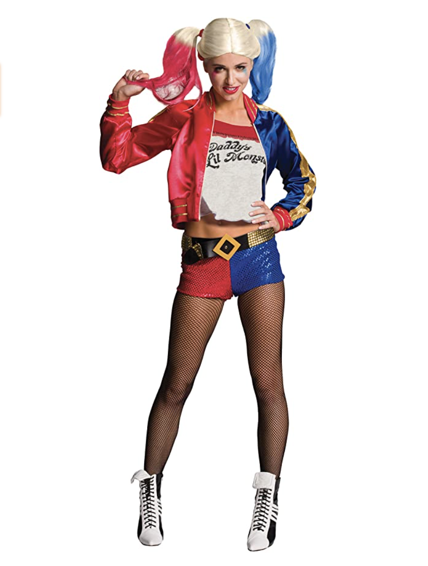 harley quinn halloween costume amazon