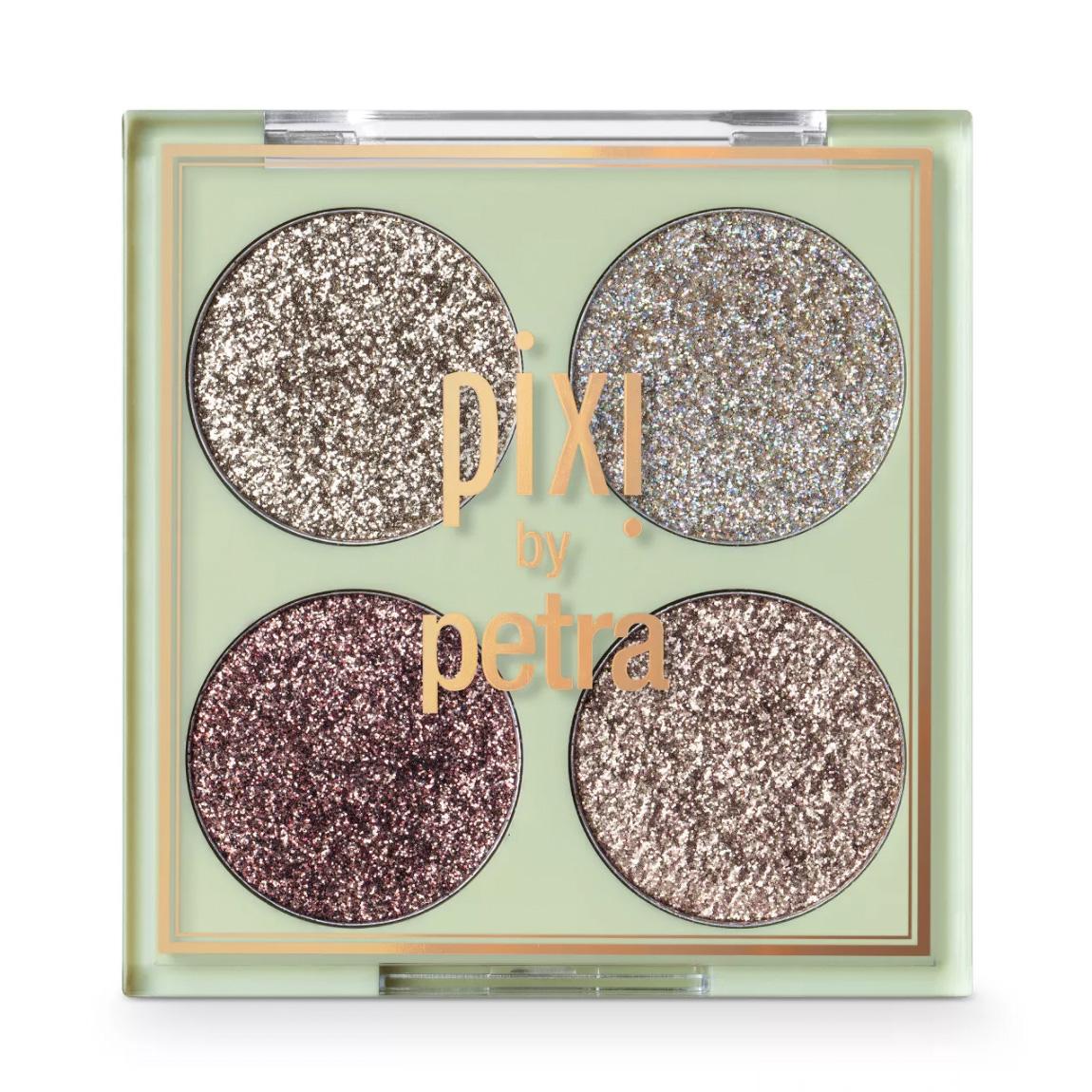 best glitter eyeshadow pixi by petra