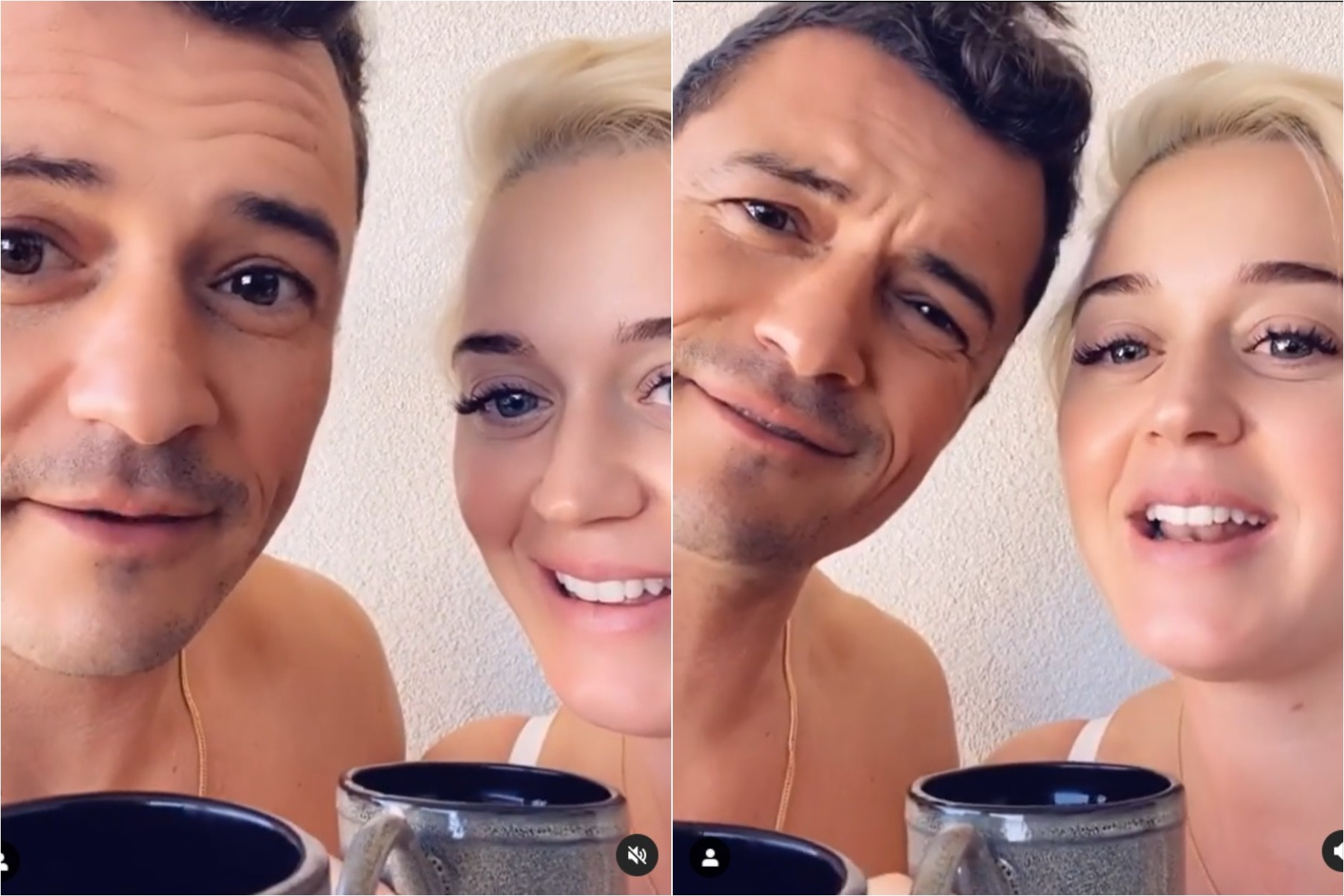 katy perry and orlando bloom voting song