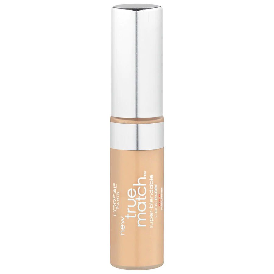 loreal paris true match super-blendable concealer, drugstore makeup products