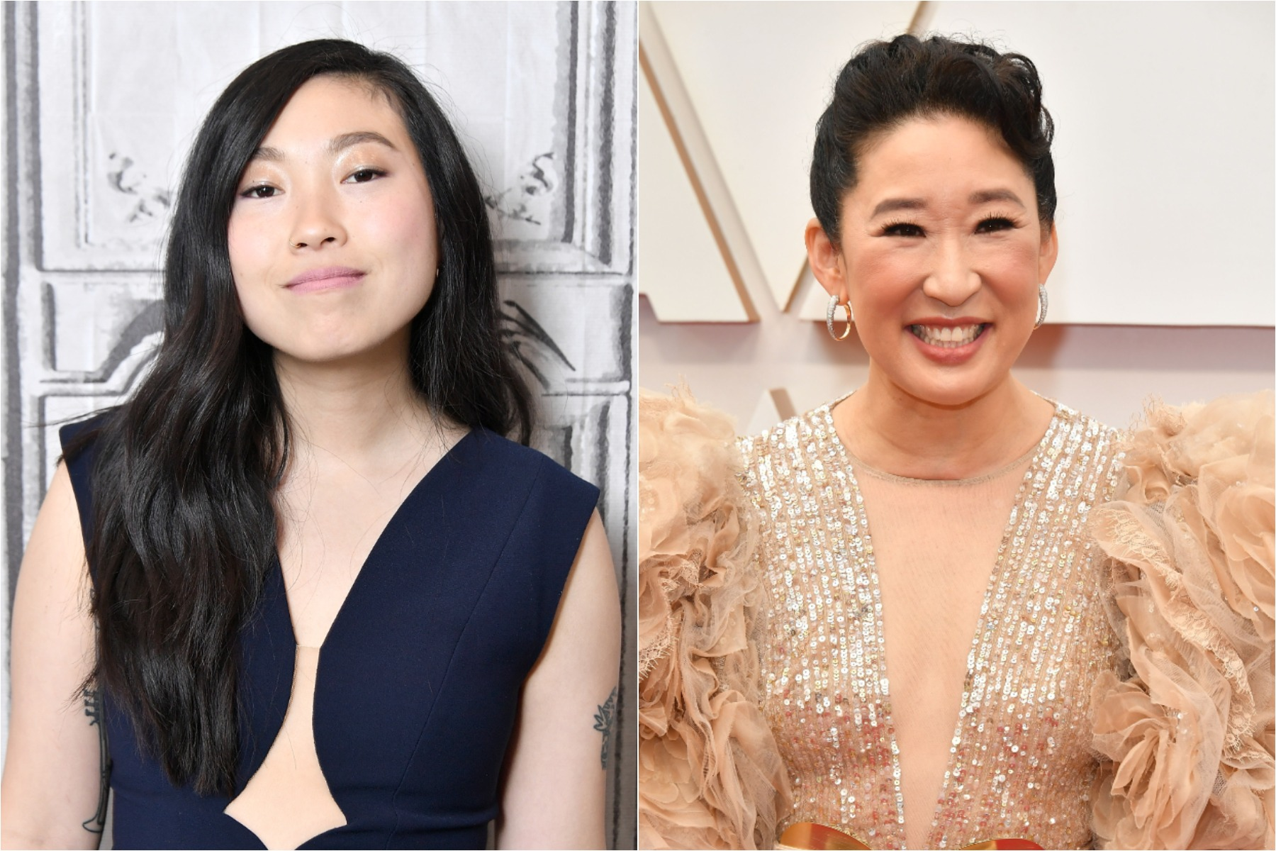 awkwafina and sandra oh netflix movie