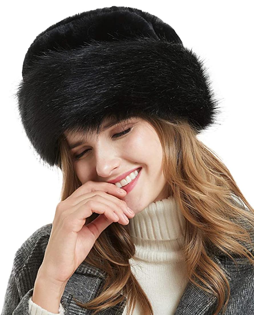 best winter hats faux fur