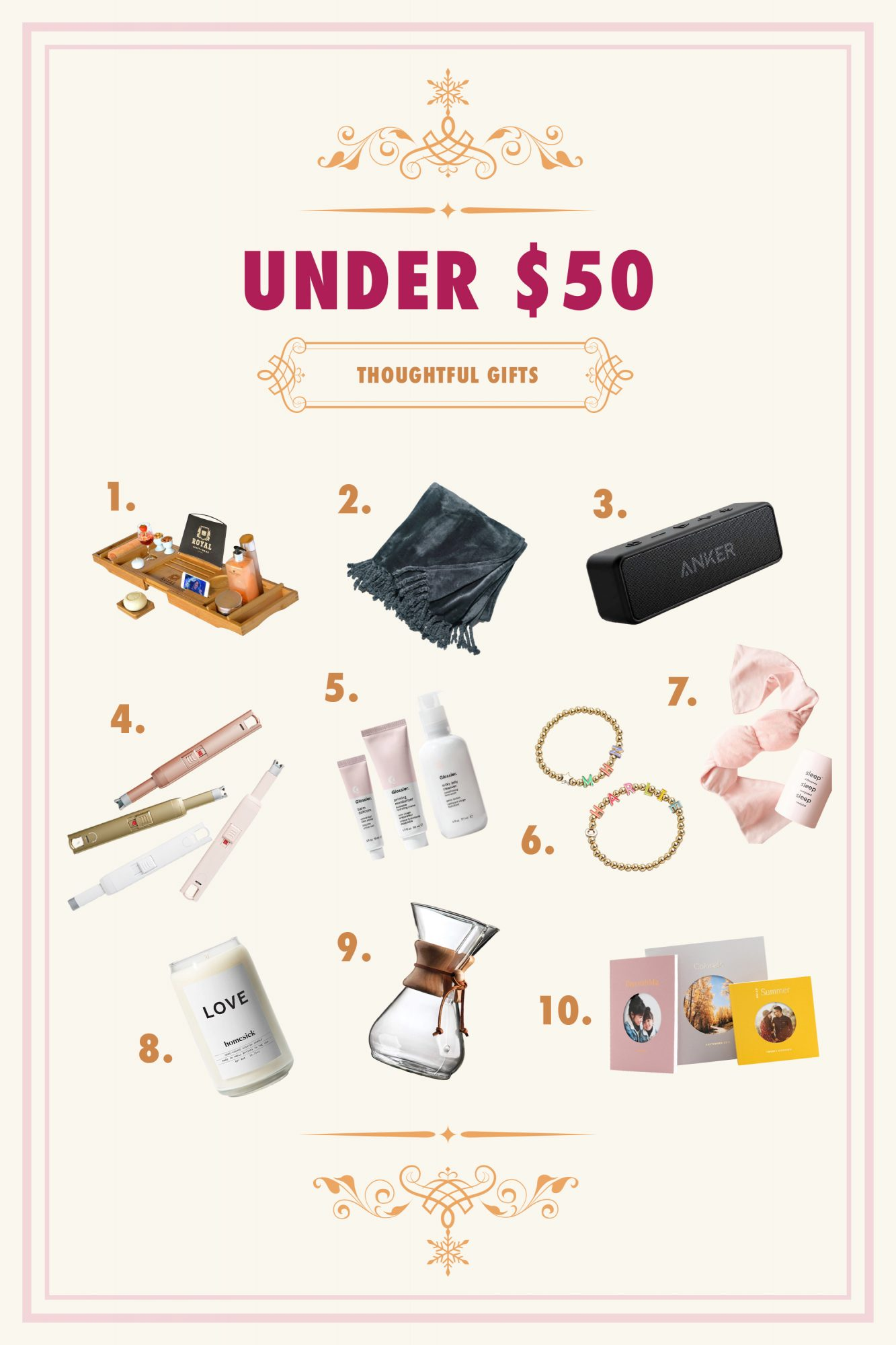 affordable thoughtful gifts