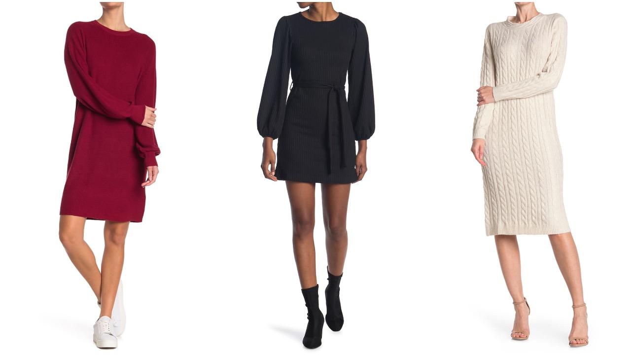 nordstrom rack sweater dress sale