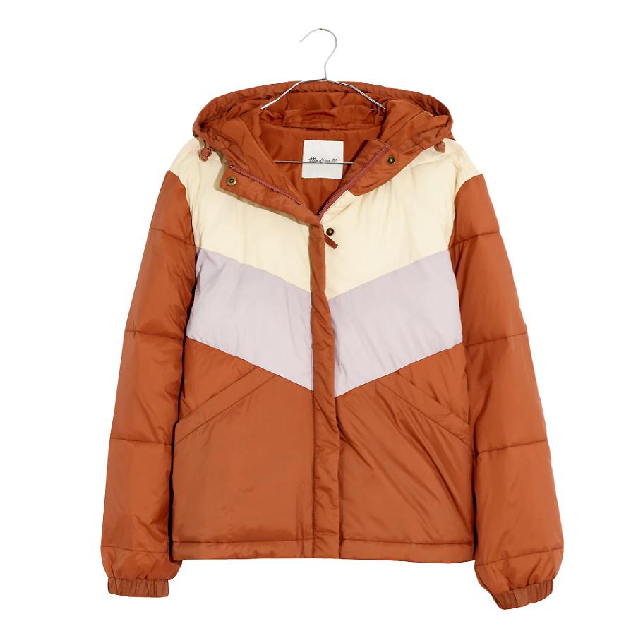best puffer coats madewell