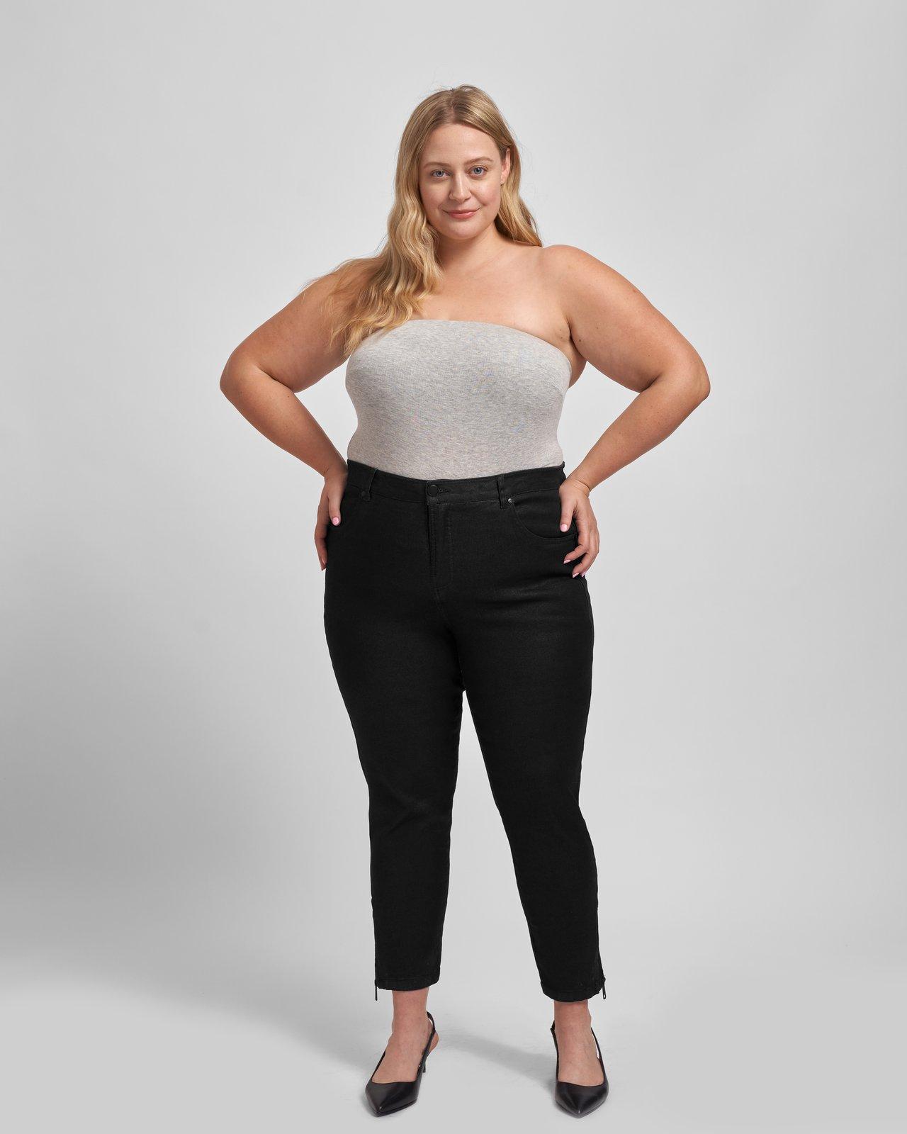 universal standard black jeans