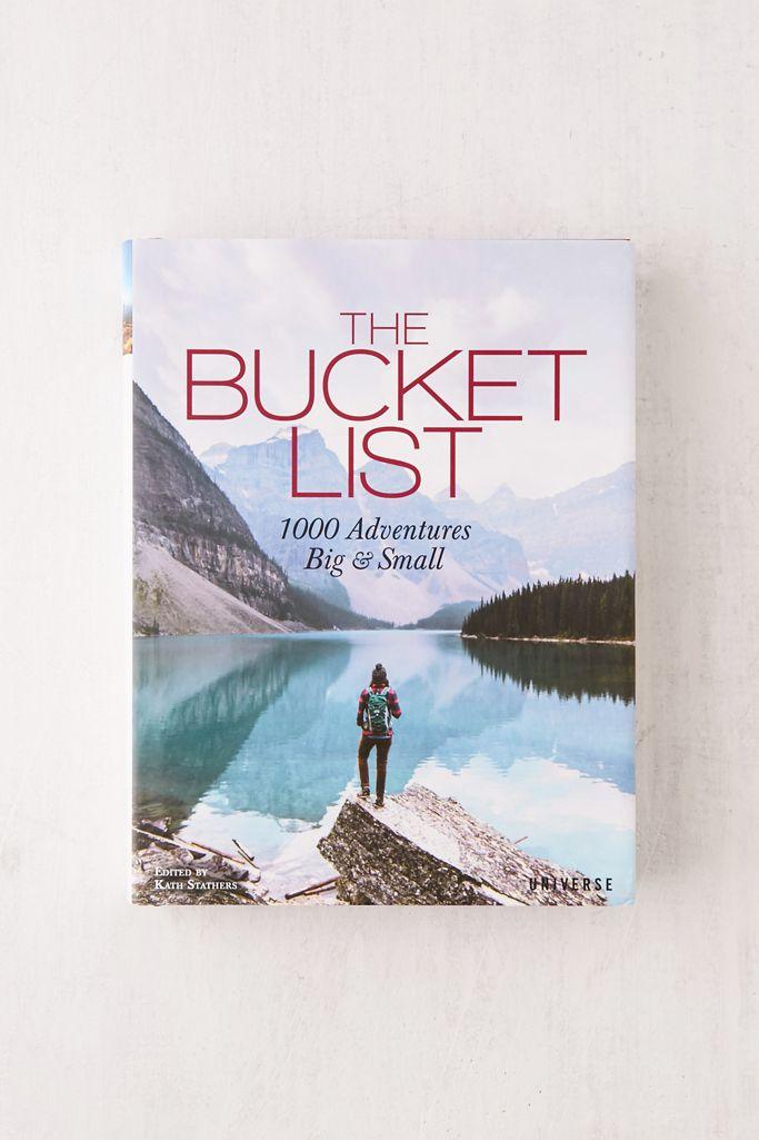 bucket list book white elephant gift