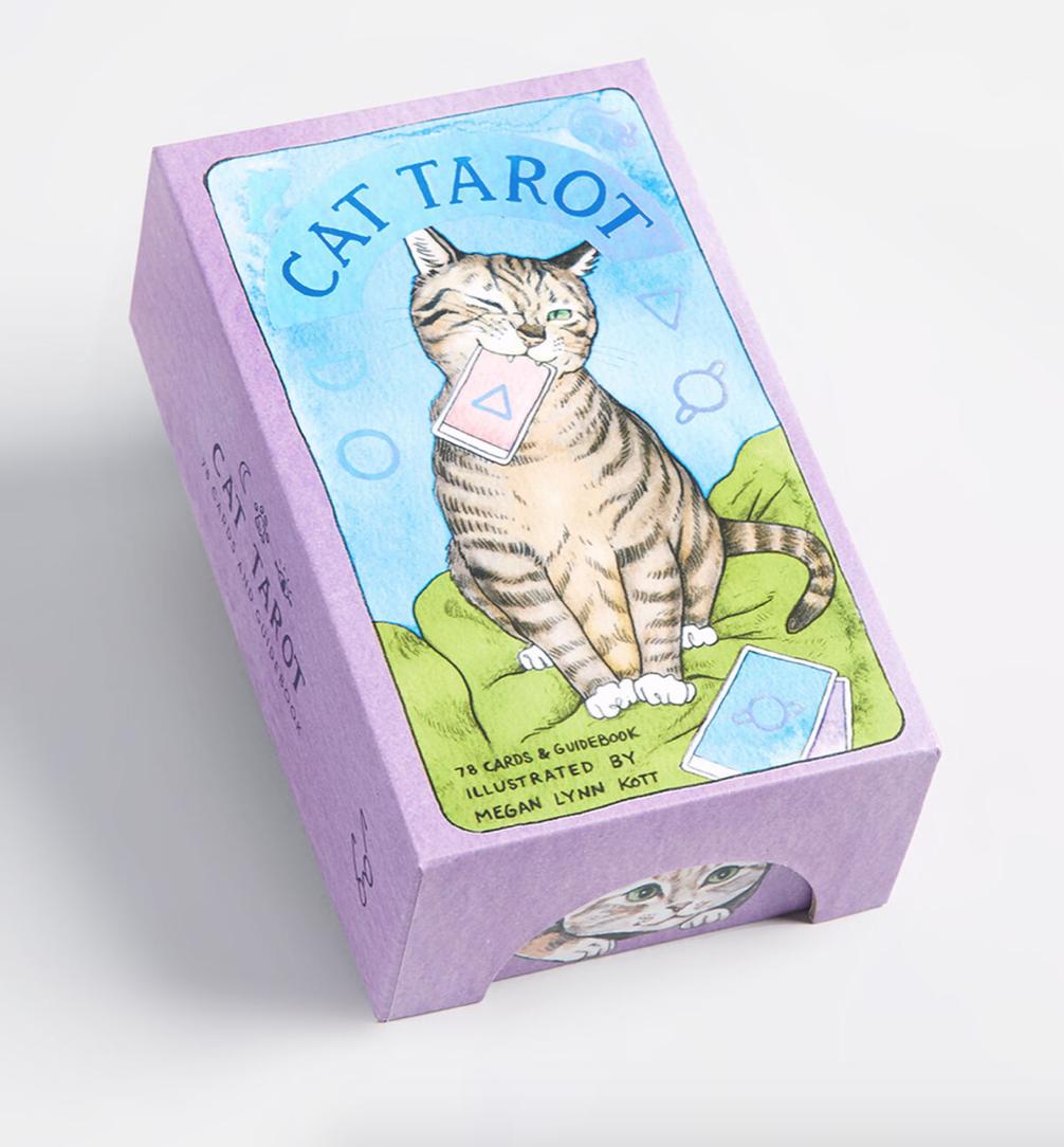 cat tarot cards white elephant gift ideas