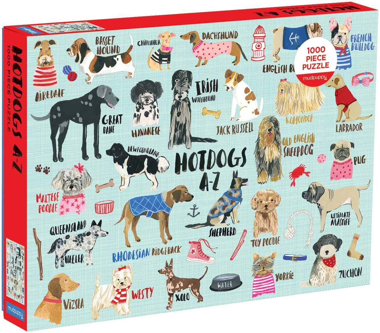dog puzzles white elephant gift ideas