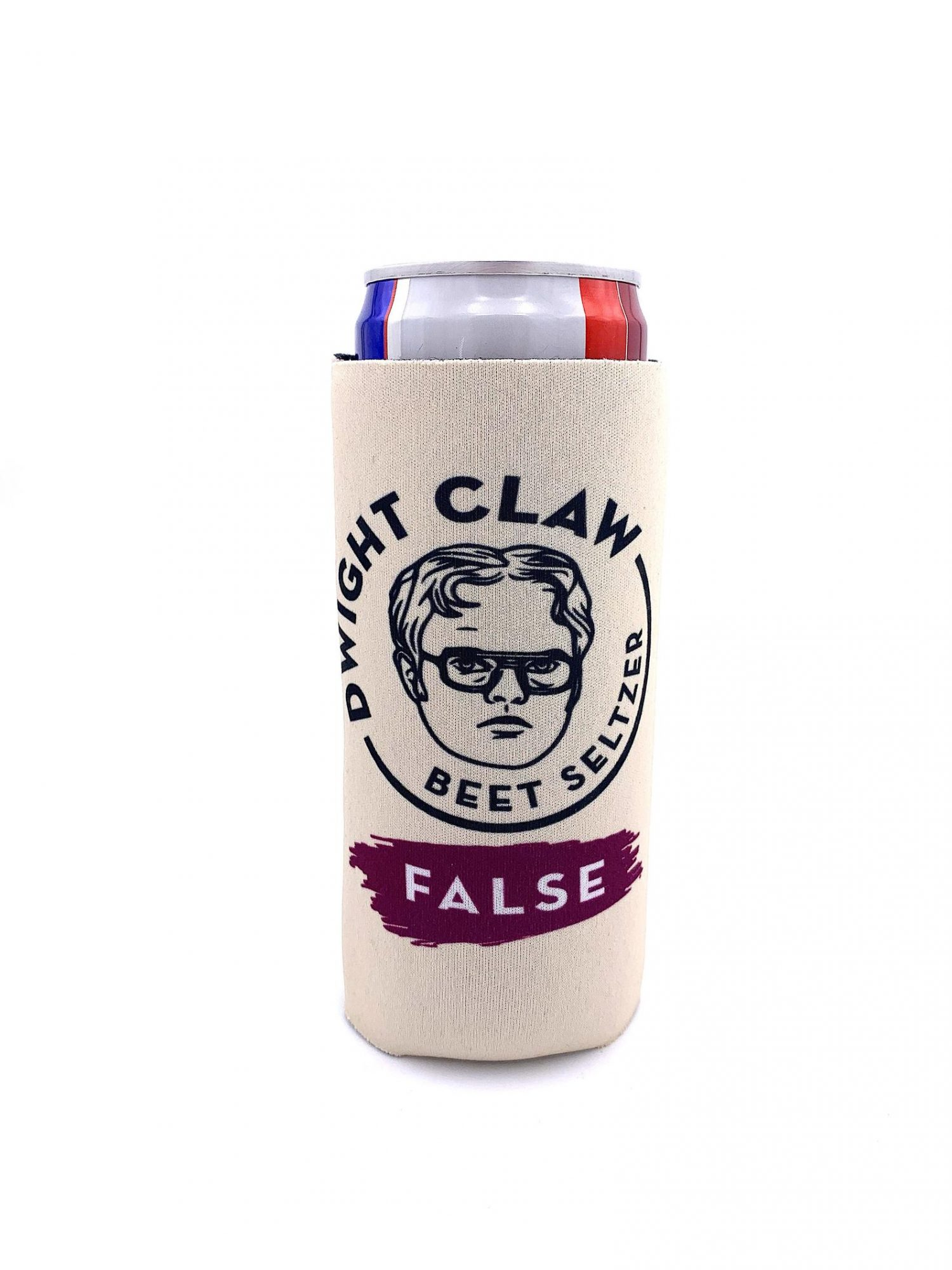 Dwight Schrute coozie white elephant gift ideas