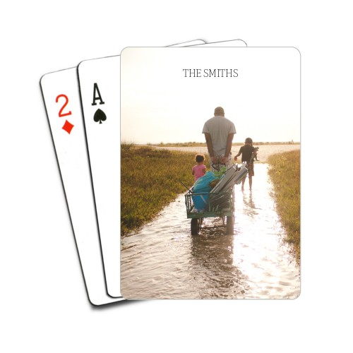 personalized playing cards white elephant gift ideas