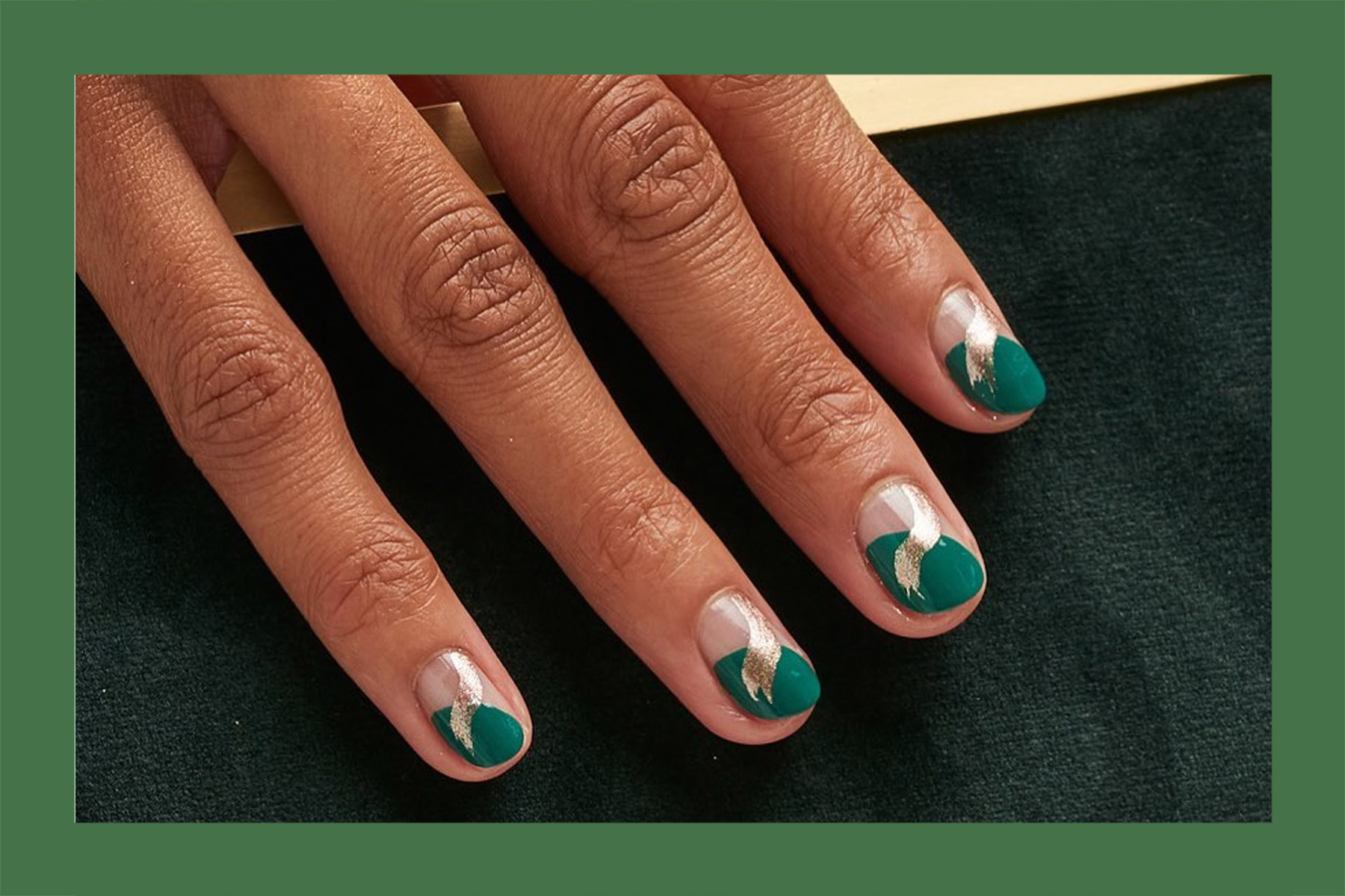 holiday nail art ideas manicures