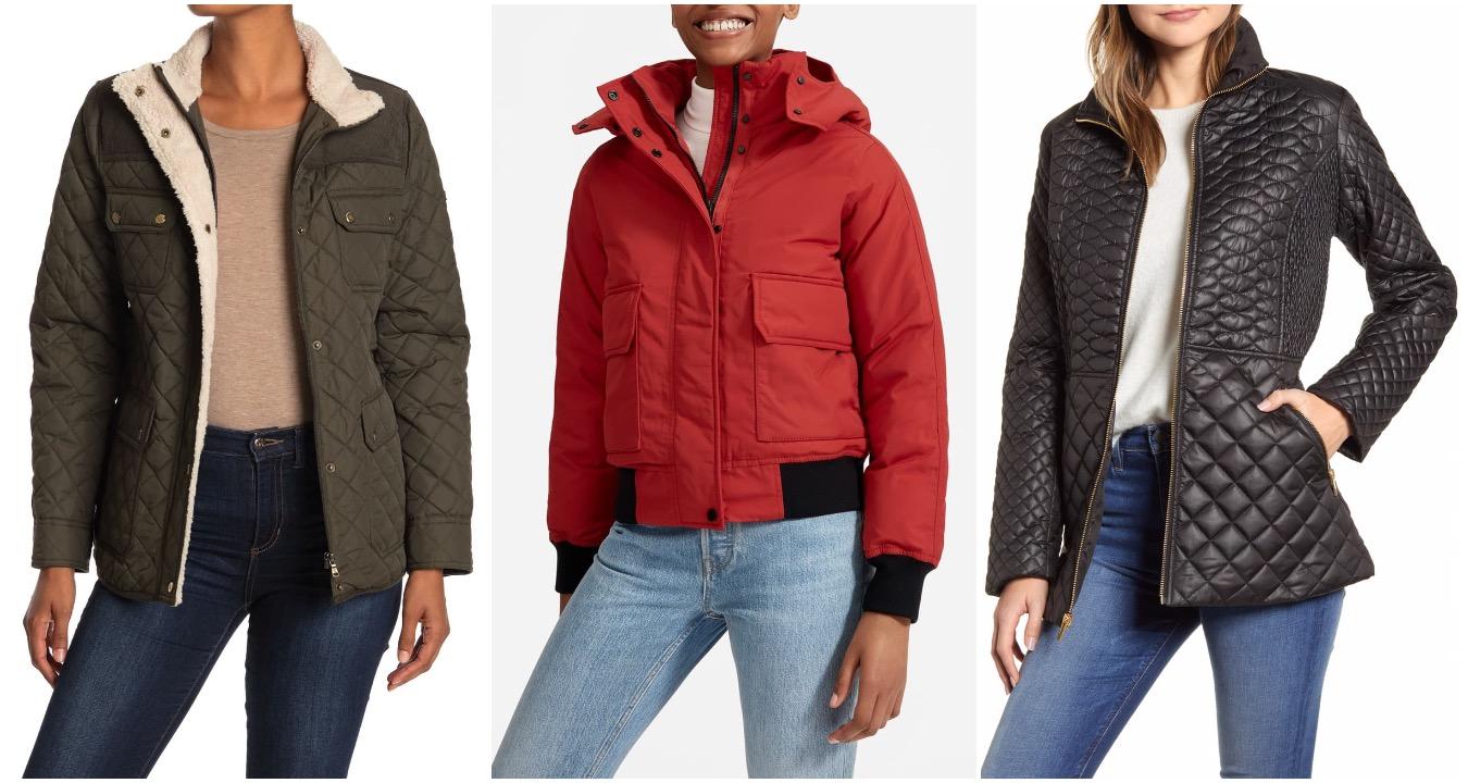 nordstrom rack outerwear sale