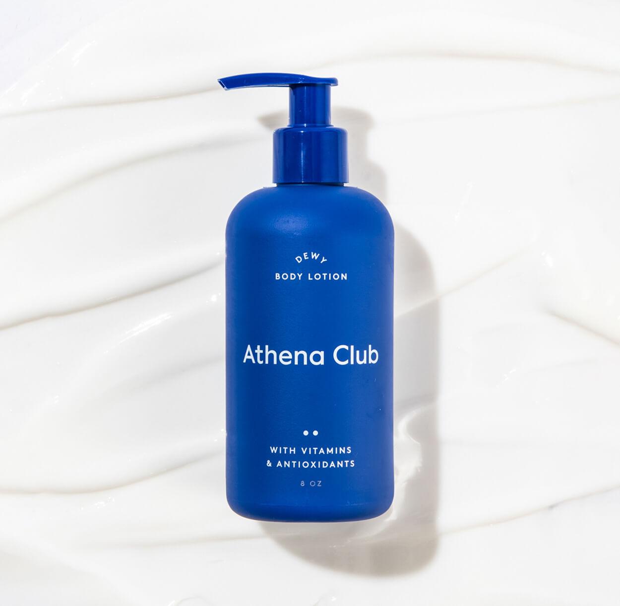 athena club dewy body lotion