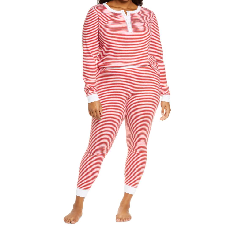 holiday pajamas nordstrom plus-size