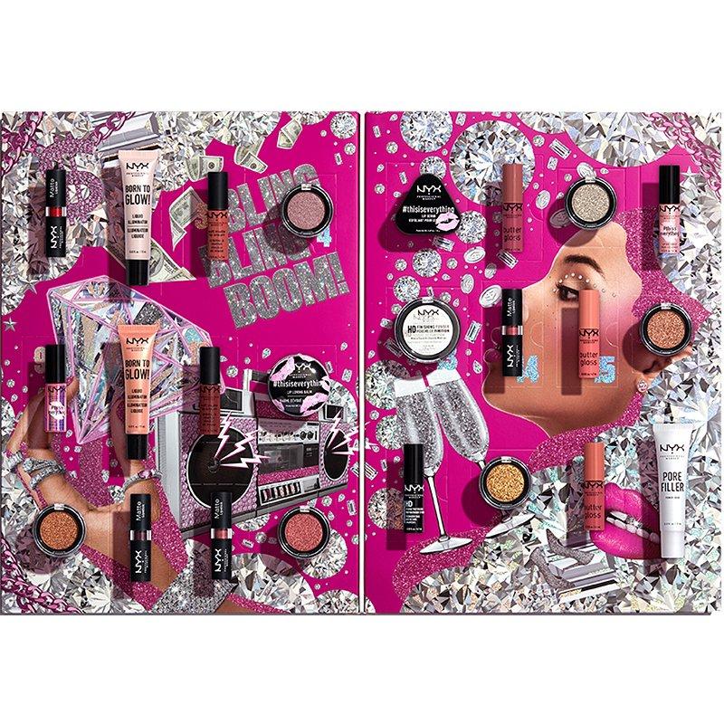NYX professional makeup beauty advent calendar 2020