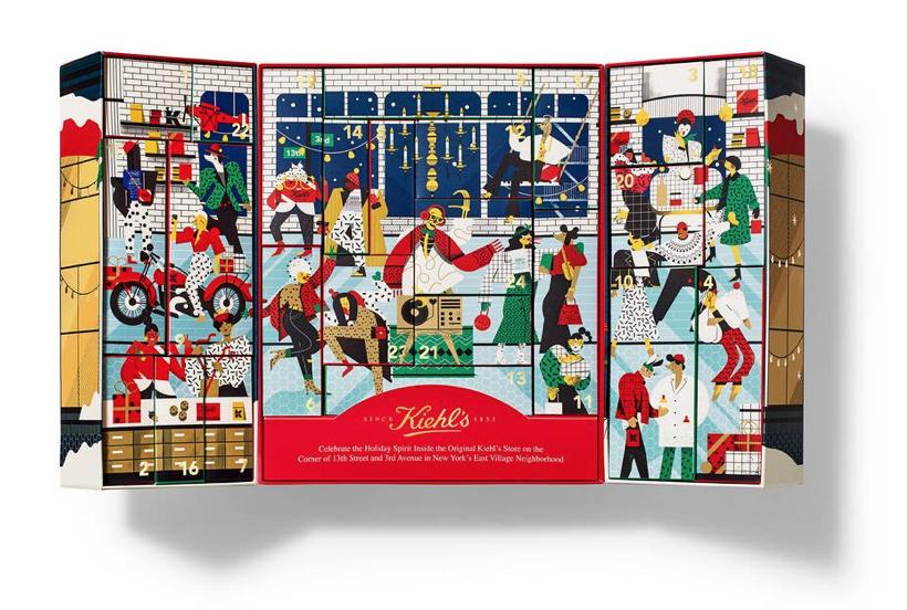 Kiehl's beauty advent calendar, best beauty advent calendars 2020