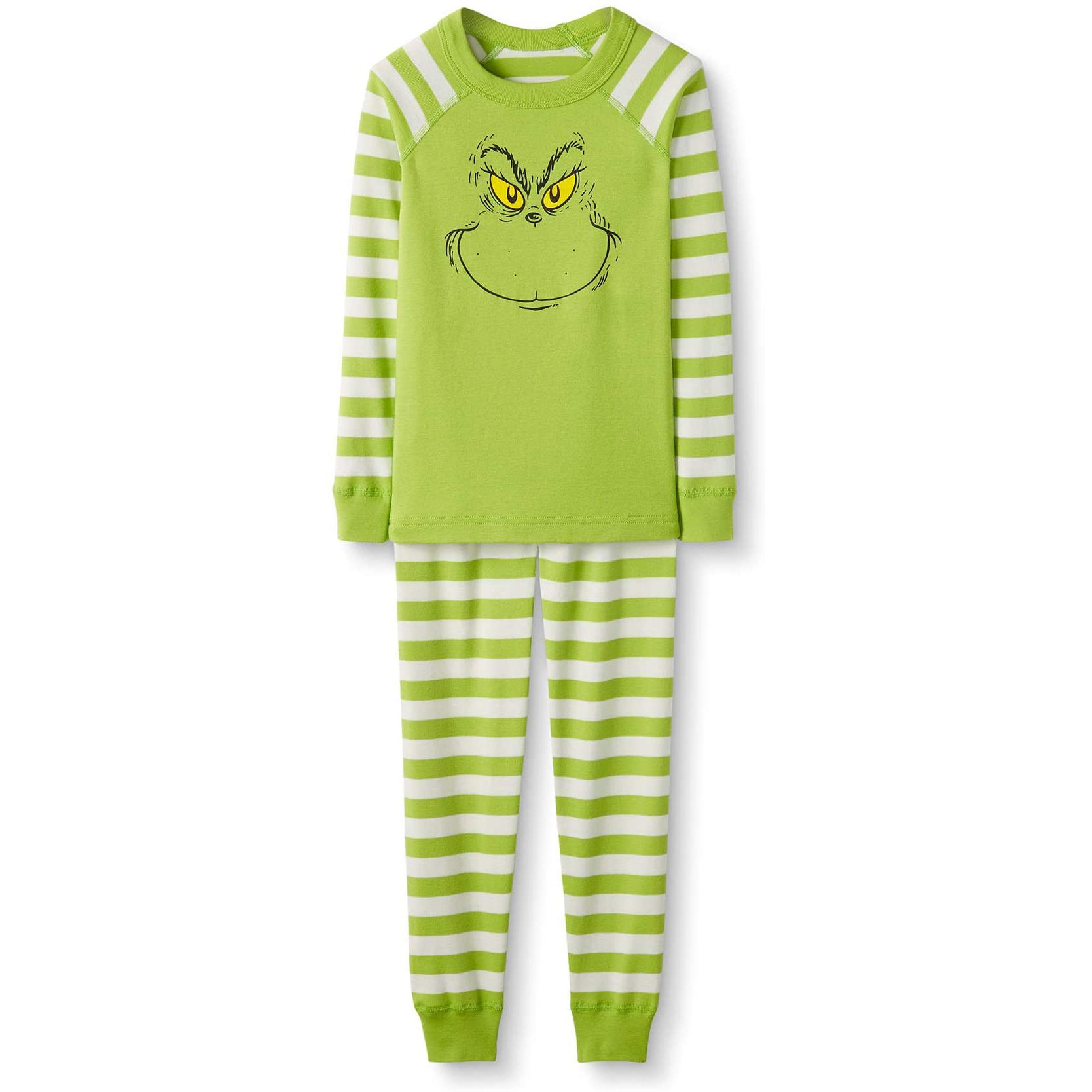 grinch christmas pajamas