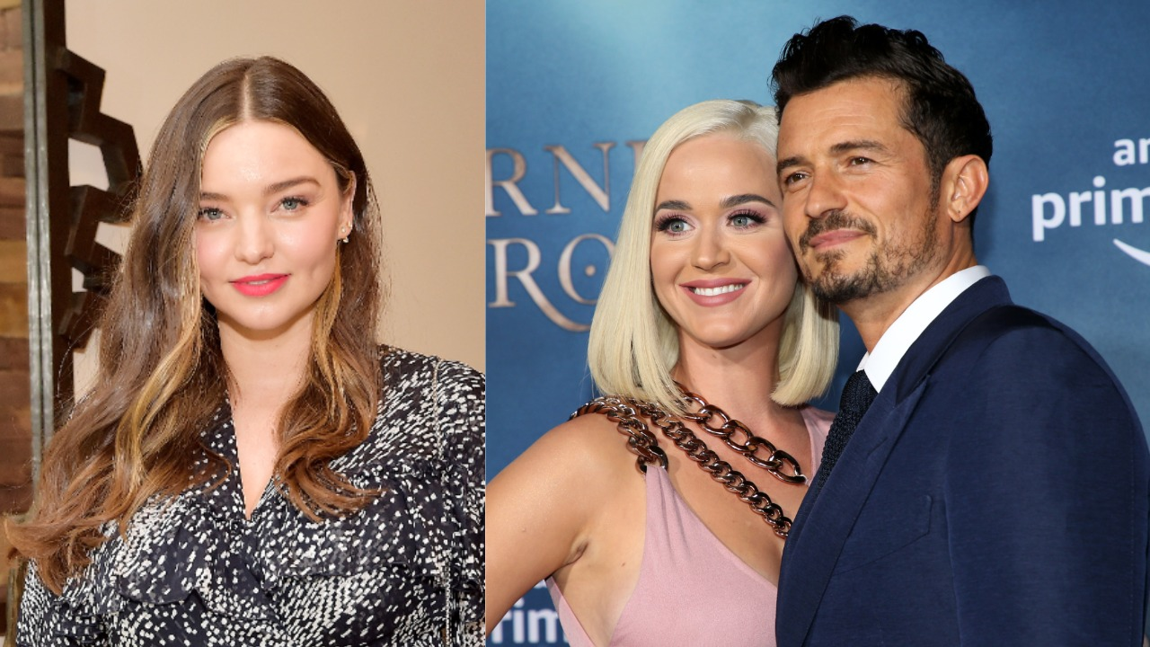 miranda kerry, katy perry, orlando bloom